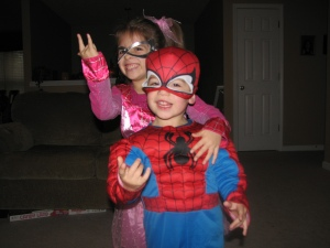 Spidey-Sis and Spidey-Brother