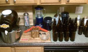 Mr. Beer home brewing