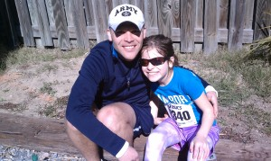 Daddy & Daughter Runners