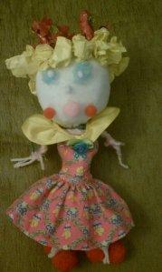 Princess Peach Doll - made by Nia and Mom