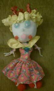 Princess Peach Doll - made by Nia and Mom