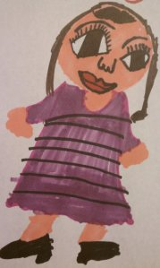 Sharpie Nia by Nate (age 7)