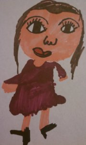 Sharpie Nicole by Nate (age 7)