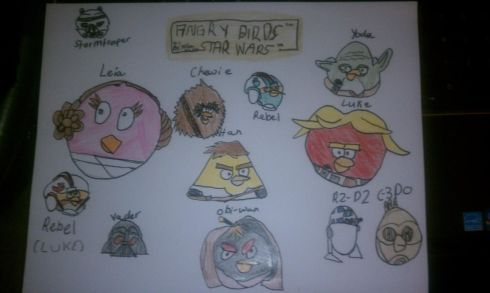 Angry Birds Star Wars by Nia