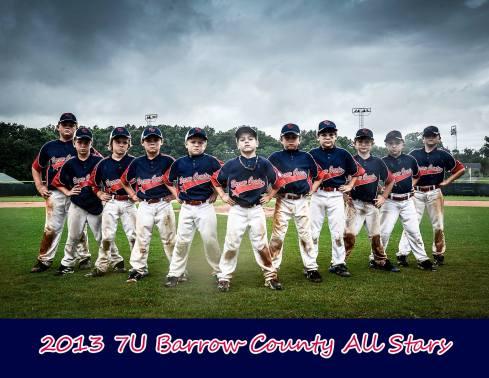 Barrow County 7U All-Stars
