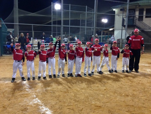8U Red Buccaneers | Fall 2013